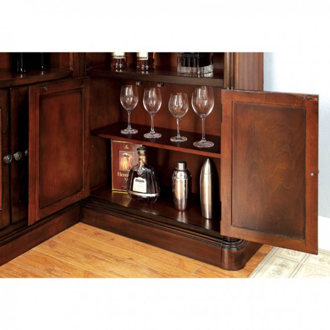 Magnificent Talib Dark Cherry Bar Unit Andrewgaddart Wooden Chair Designs For Living Room Andrewgaddartcom