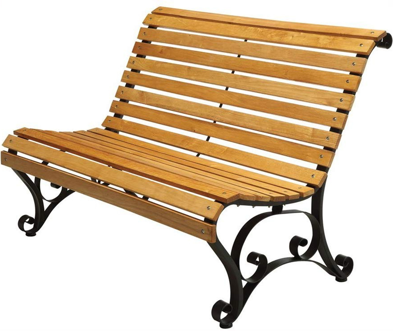 Excellent Parkview 48 Wide Oak Outdoor Bench Gmtry Best Dining Table And Chair Ideas Images Gmtryco