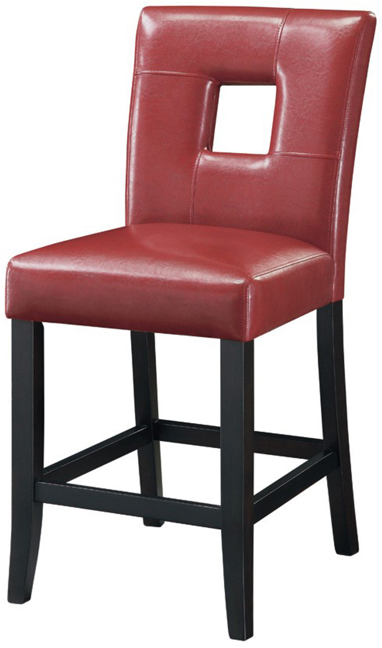Mirage Red Counter Chair Cb Furniture