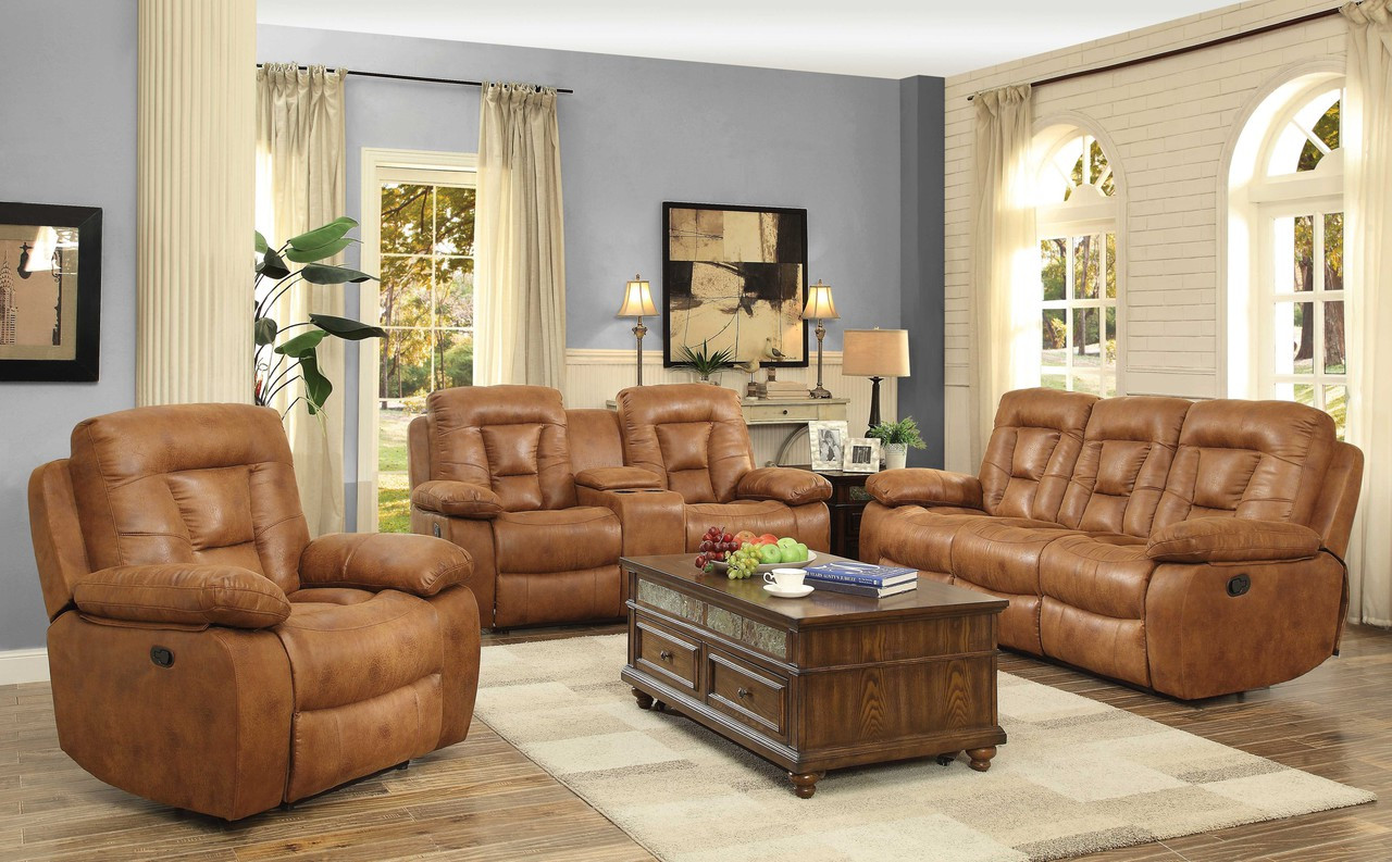 French Power Reclining Living Room Set