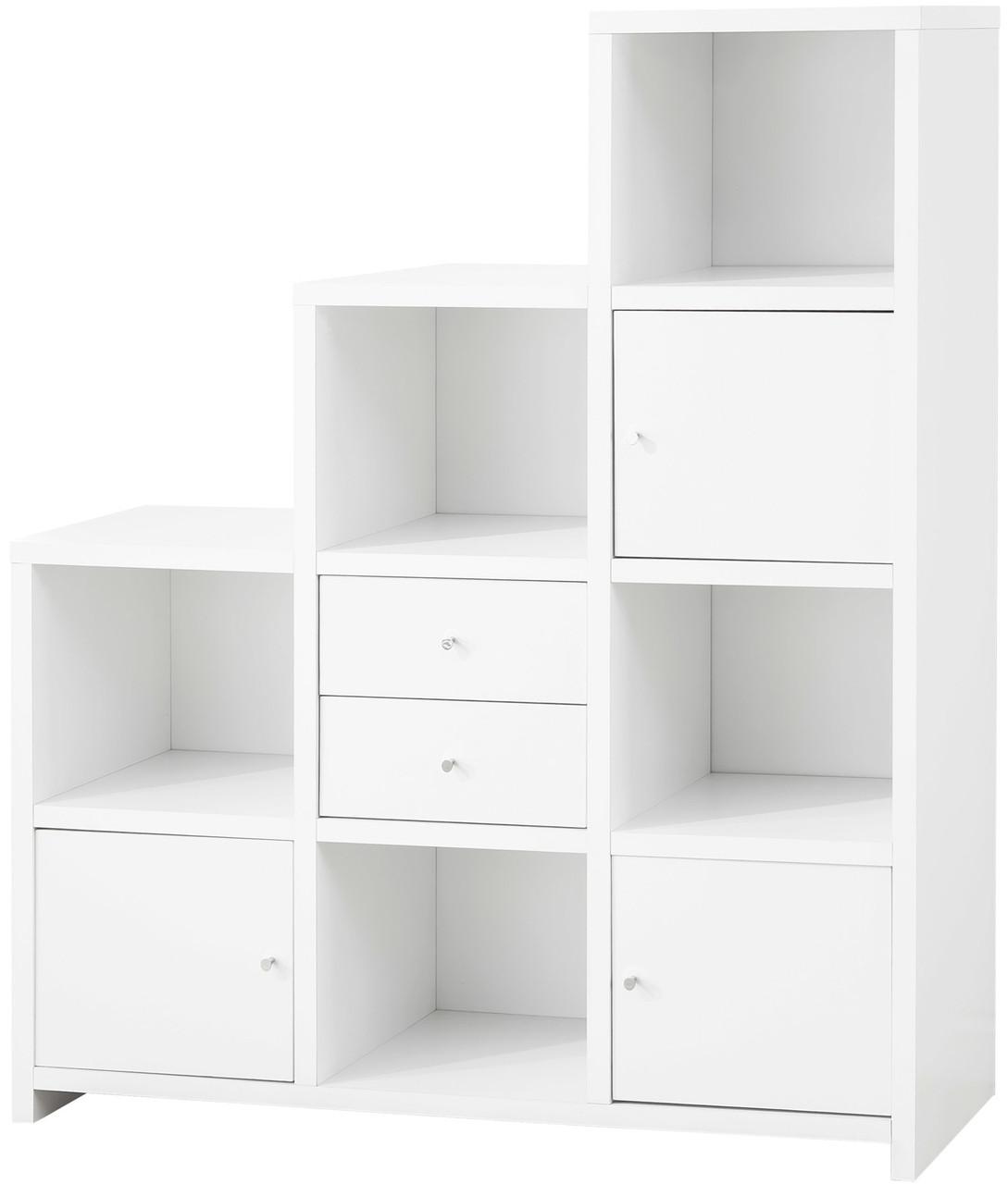 Lanton White Bookcase