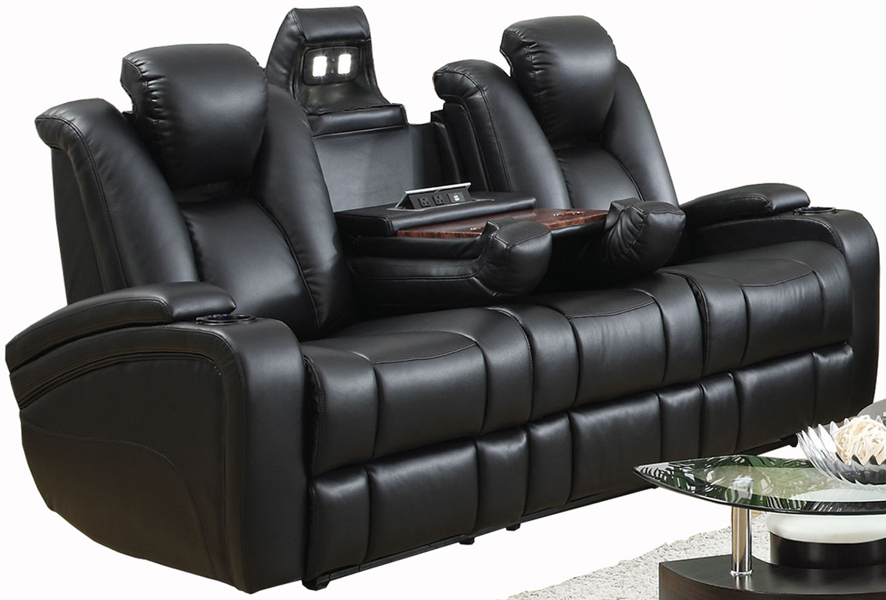 Prime Jade Powered Reclining Sofa With Usb Port Dailytribune Chair Design For Home Dailytribuneorg