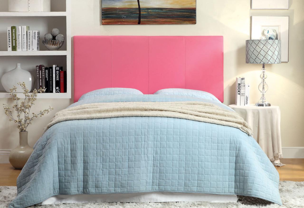 Cara Pink Full Queen Headboard Cb Furniture