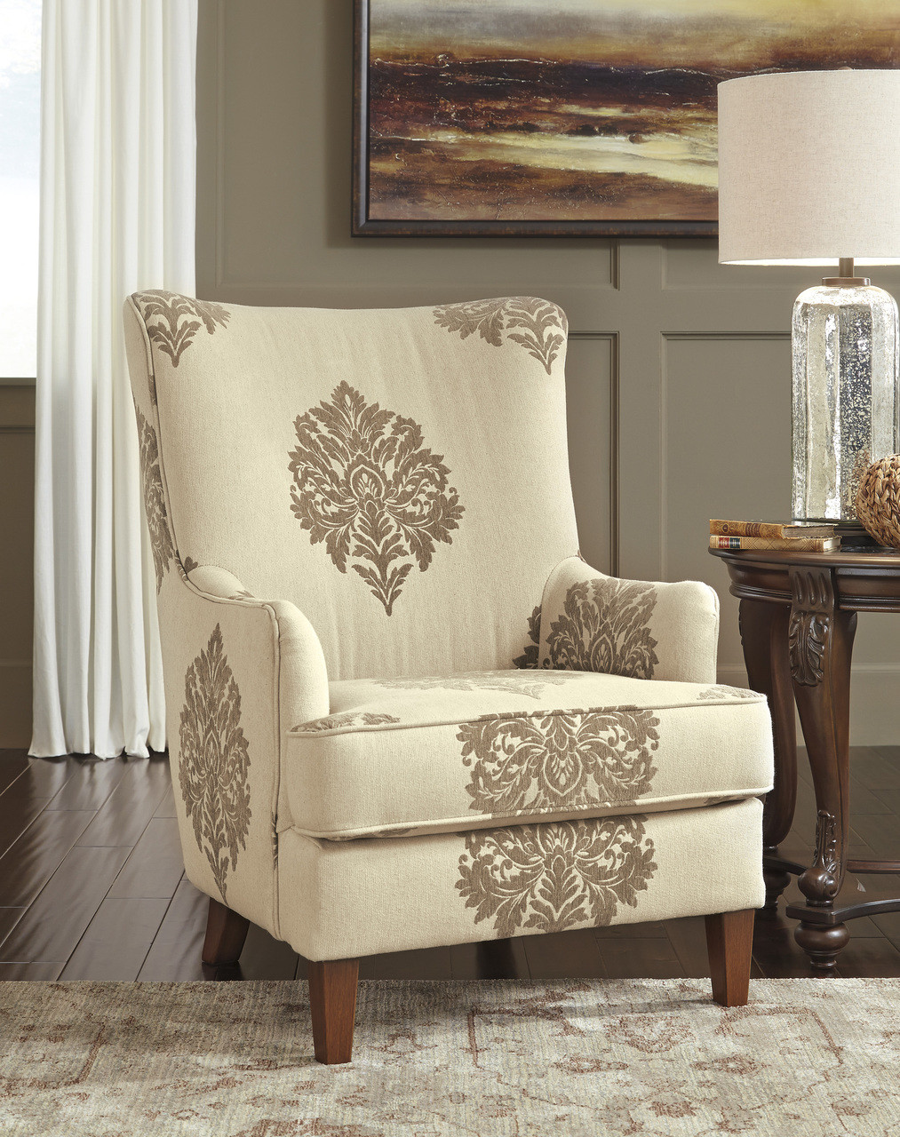 Cecily High Back Accent Chair - CB Furniture