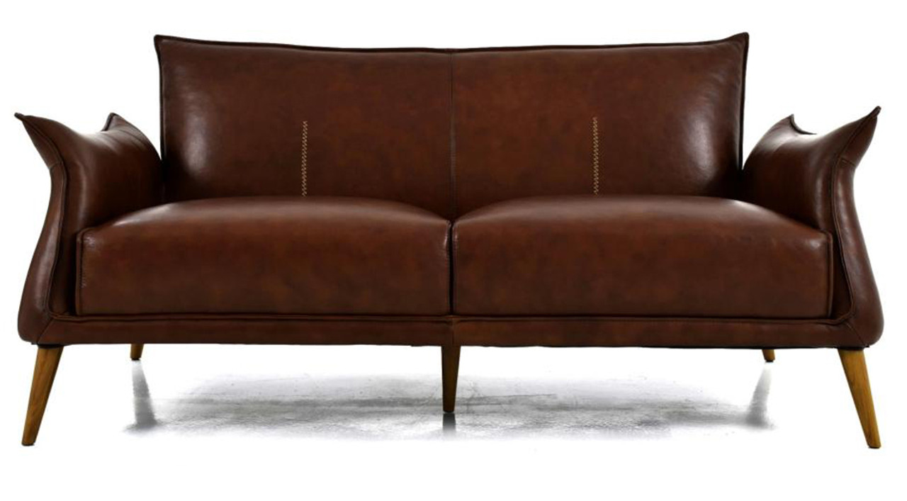 Swell Savannah Light Brown Top Grain Leather Sofa Alphanode Cool Chair Designs And Ideas Alphanodeonline