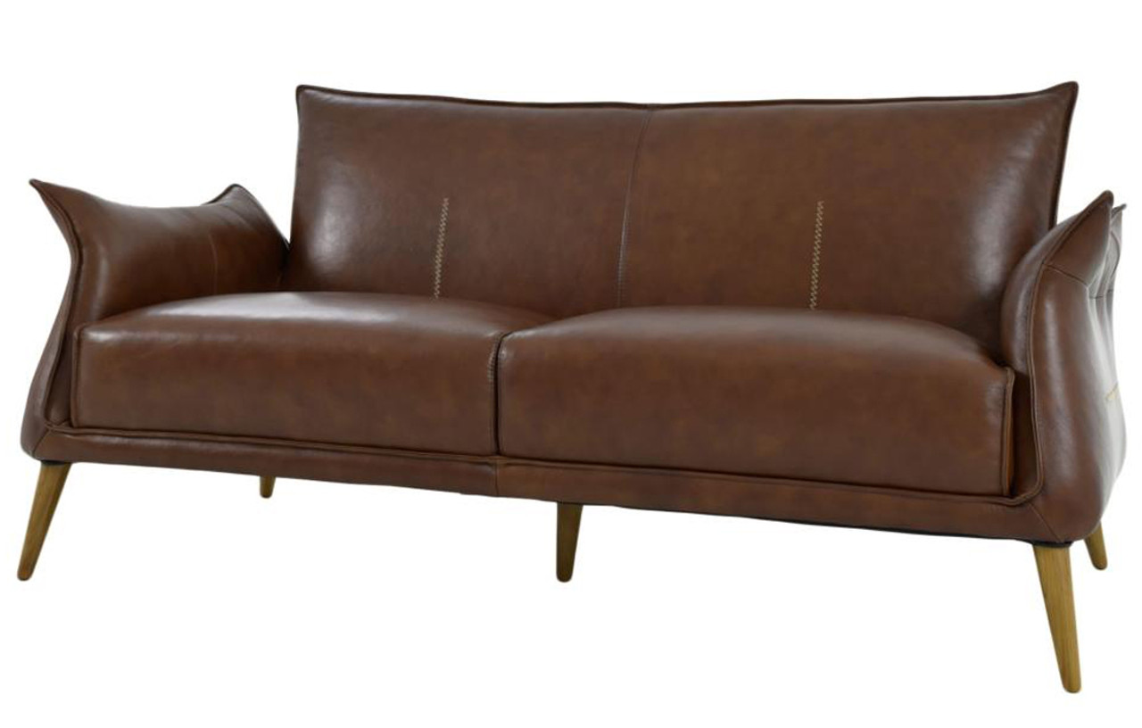 Fabulous Savannah Light Brown Top Grain Leather Sofa Alphanode Cool Chair Designs And Ideas Alphanodeonline