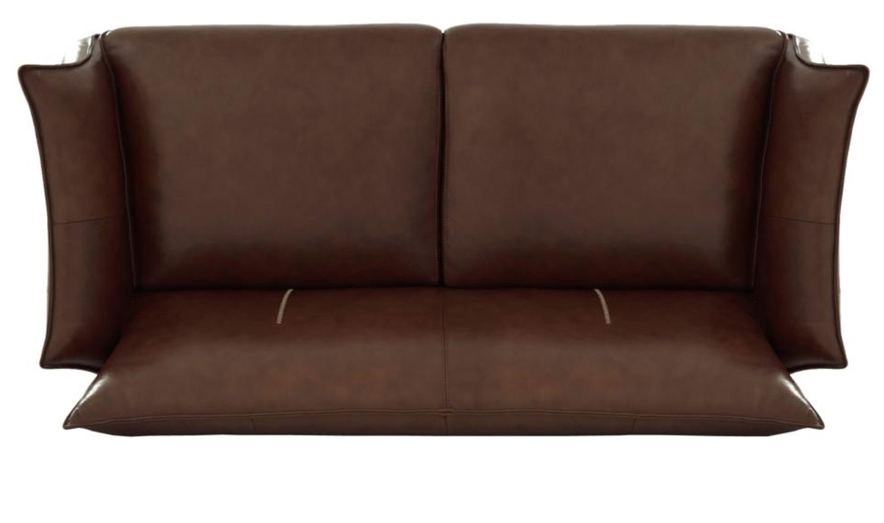 Cool Savannah Light Brown Top Grain Leather Sofa Alphanode Cool Chair Designs And Ideas Alphanodeonline