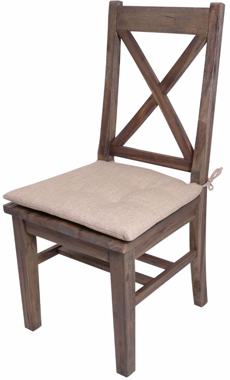 Fantastic Rutherford Distressed Grey Dining Chair With Cushion Gmtry Best Dining Table And Chair Ideas Images Gmtryco