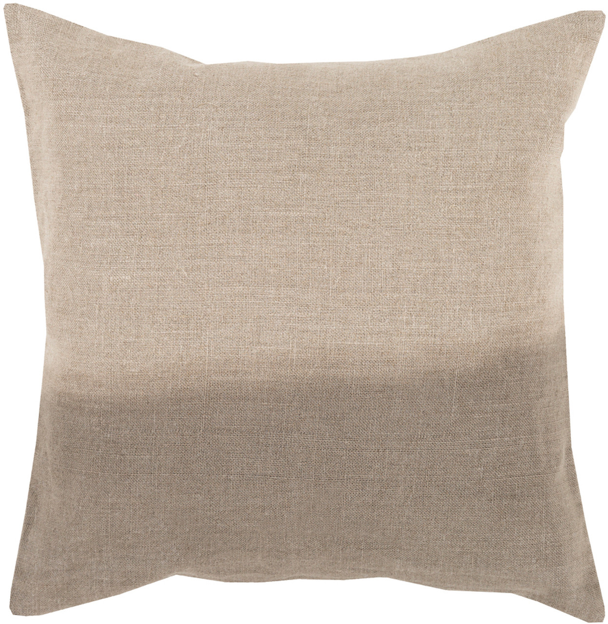 SET OF 2 Throw Pillows 18x18 20x20 or 22x22 Square Genuine Leather Accent