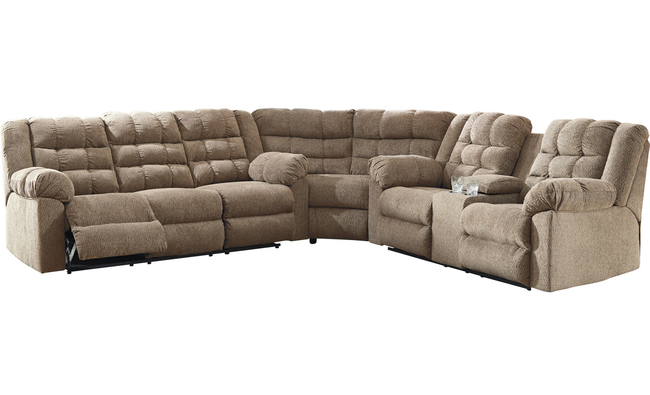 Wilkford Reclining Sectional