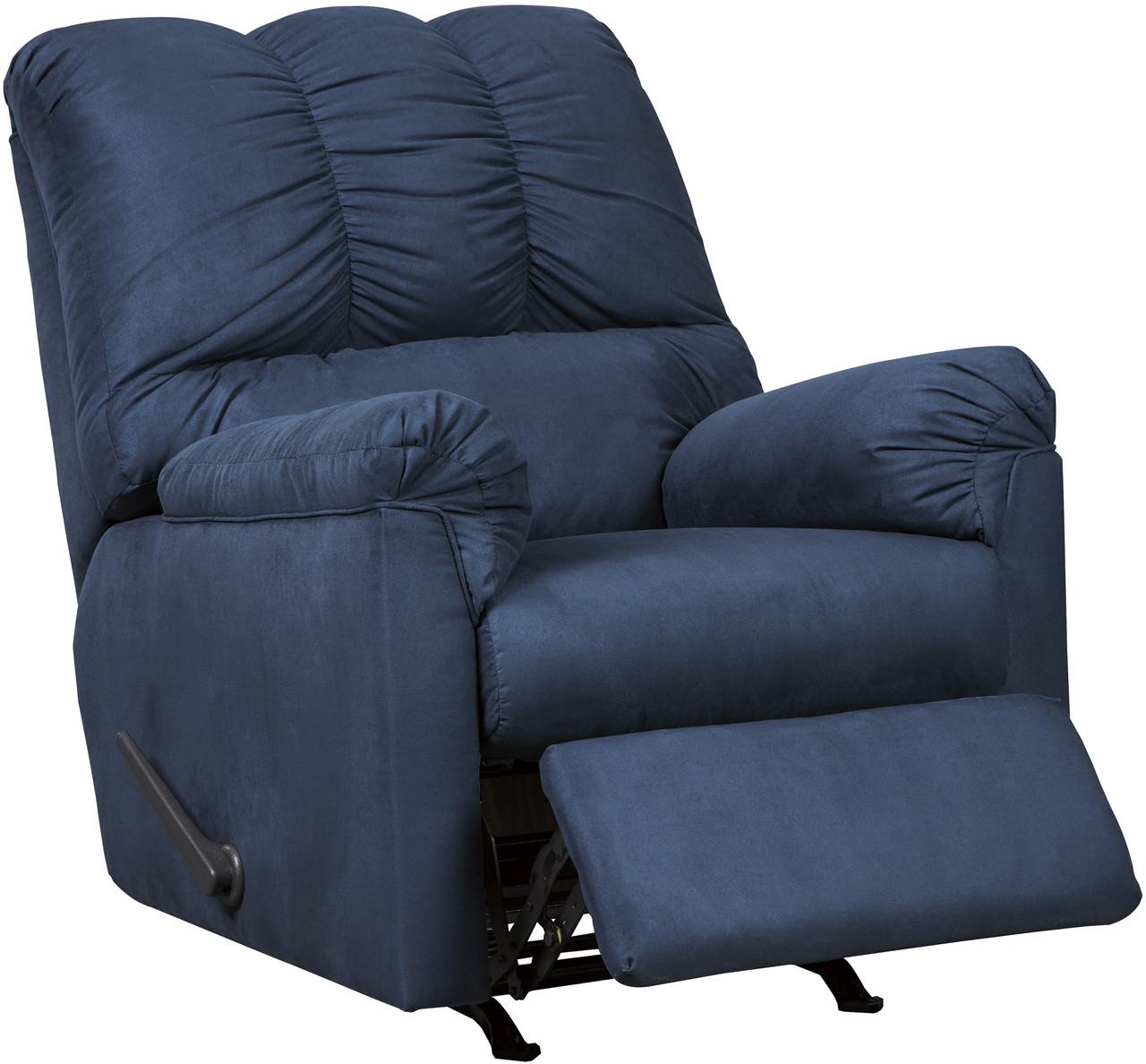 Sensational Edeline Royal Blue Plush Rocker Recliner Pdpeps Interior Chair Design Pdpepsorg