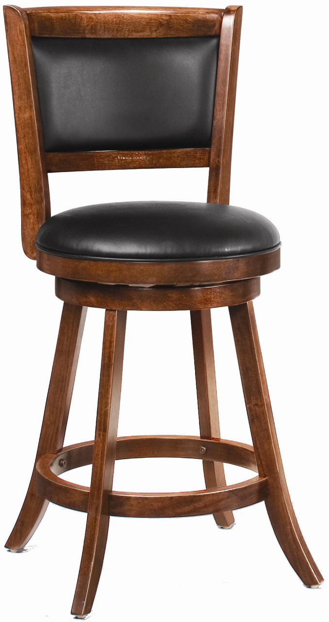 Portico Chestnut 24 Swivel Barstool Cb Furniture