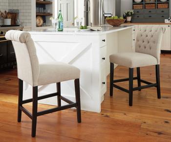Liana Wheat Counter Chair