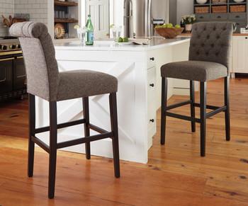Liana Gray Bar Chair