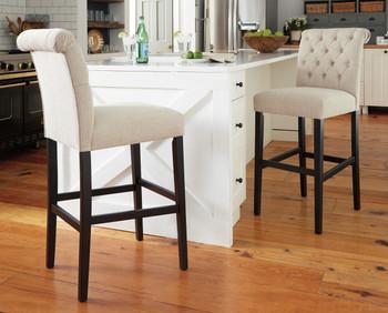 Liana Wheat Bar Chair