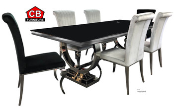 "London 94"" 7-PC Dining Set"