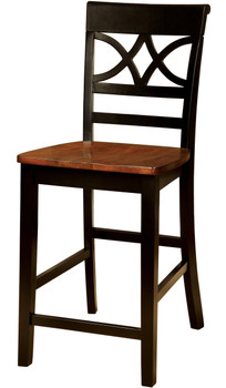 Akima Black Counter Chair