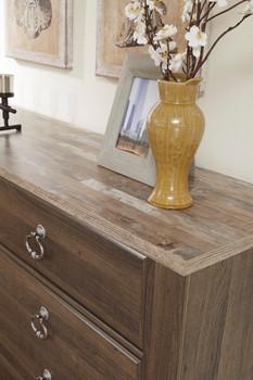 Cresthill Brown Dresser & Mirror