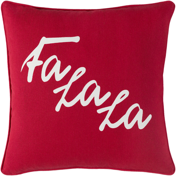 Designer Red Falala Pillow