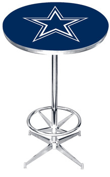 "Dallas Cowboys 27"" Wide Bar Table"