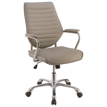 Esmond Taupe Desk Chair