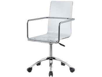 Avis Clear Acrylic Desk Chair
