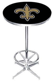 "New Orleans Saints 27"" Wide Bar Table"