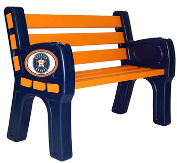 "Houston Astros 48"" Wide Park Bench"
