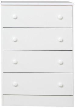 Coepto White 4 Drawer Chest