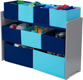 Pexel Blue Toy Organizer