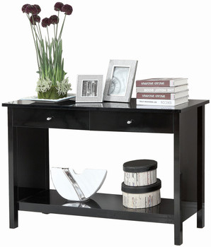 Kanus Black Sofa Table