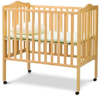 Portababy Natural Crib With Mattress