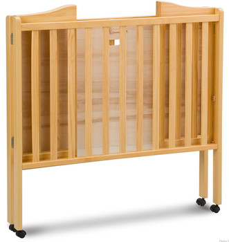 Portababy Natural Crib With Mattress