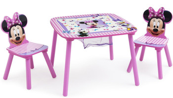 Minnie Mouse Table & Chair Set with Storage