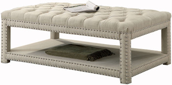 Mero Beige Small Bench