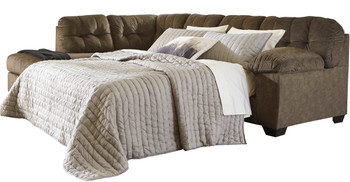 Alven Brown Queen Sectional Sleeper