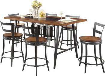 Griffin 7 Piece Counter Height Set