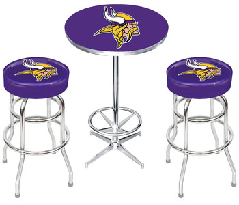 Minnesota Vikings Heavy-Duty 3-PC Bar Set