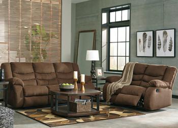 SARGE Chocolate Reclining Livingroom
