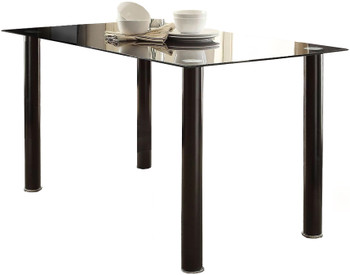 Anik Black 7 Piece Dining Set