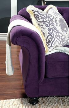 Gloria Purple Chair