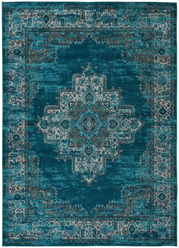 DARLY Teal 8' x 10' Rug