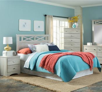Xerces Cream Bedroom Set