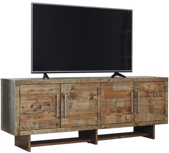 "Shadrax Reclaimed Pine 75"" TV Stand"