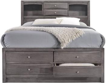Watson Gray Storage Bed
