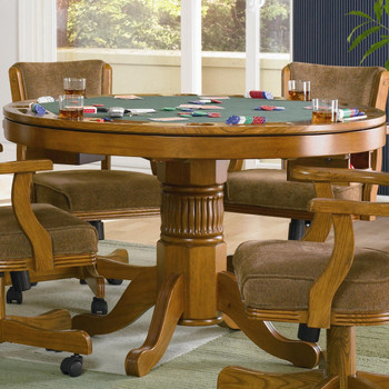 Felted Poker Table
