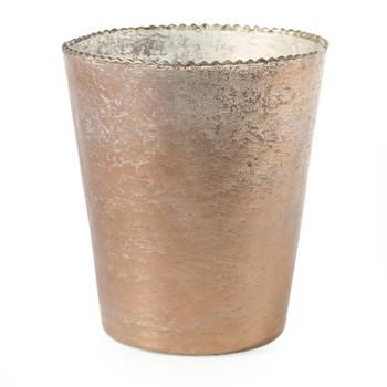 Maisha Rose Gold  Small Vase