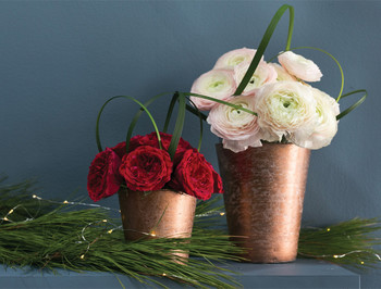 Maisha Rose Gold  Small Vase