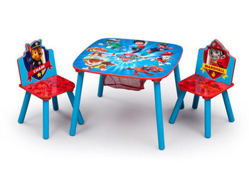 PAW Patrol Table & Chair Set with Storage