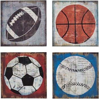 Sports Balls Wall Art